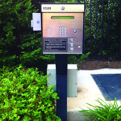 Number Code Access Control