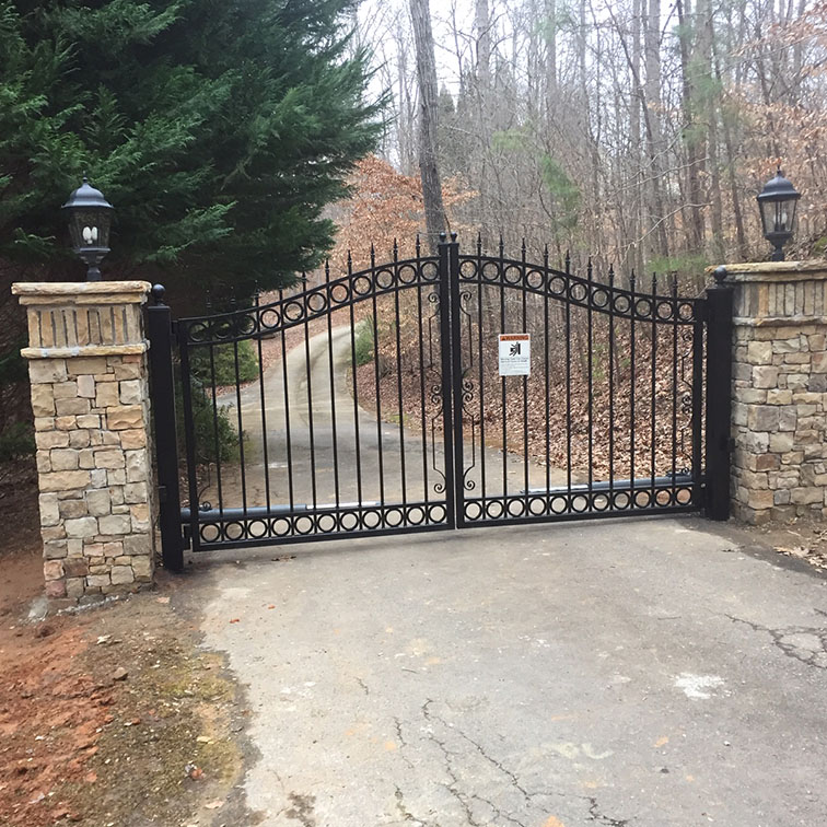 Custom Automated Gate Atlanta