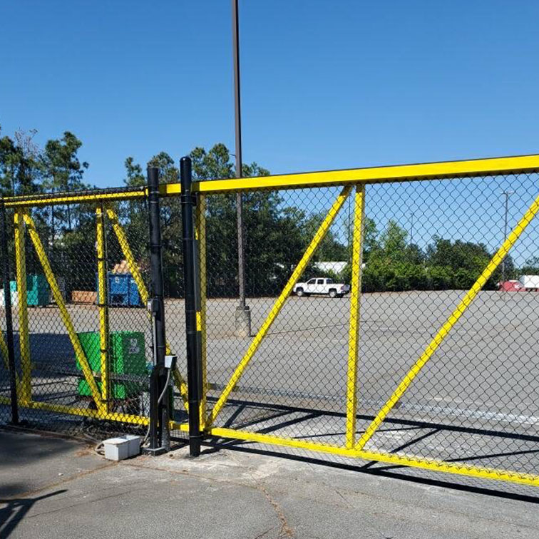 Industrial Gate Access Control